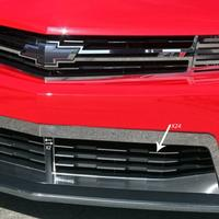 2012+ ZL1 Camaro - Front Lower Grille Trim Kit - Polished Stainless Steel - 26pc.