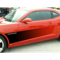 2010-2013 Camaro Gradient Flame Side Sport Fade 2pc.