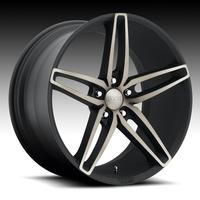 2010-2014 Camaro Foose Stallion F156 Wheels (Set) : Matte Black Machined Face 20x8.5/20x10