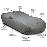 2010-2014 Camaro Coverbond 4 Car Cover : Gray (2SS / ZL1 / RS / Bumblebee Coupe)