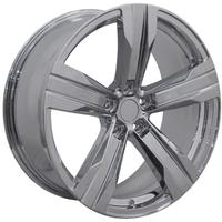 Camaro 2010-2014 Chrome  ZL1 Style Reproduction Wheel - Solid 5 Spoke