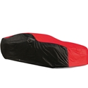 2010-2015 Camaro Ultraguard Car Cover - Indoor/Outdoor Protection : Red/Black