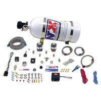 2010-2011 Camaro Nitrous Oxide - NX Universal Fly by Wire Single Nozzle 35-150HP System w/ 10LB. Bottle and TPS Switch