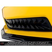 2010-2013 Camaro Shark Tooth Lower Front Grille V8 - Blakk Stealth