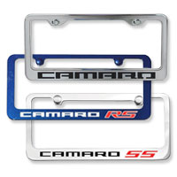 Camaro License Plate Frames