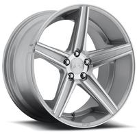 "2010-2012 Camaro Wheels - Niche ""Apex"" - Silver & Machined (Set of 4) :RS & SS Sizes"