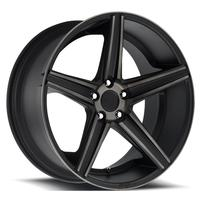 "2010-2012 Camaro Wheels - Niche ""Apex"" - Black Machined (Set of 4) :RS & SS Sizes"