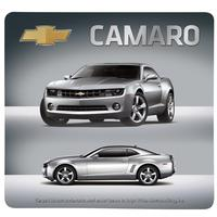 5TH Generation Camaro Mouse Pad : Silver