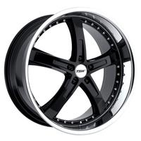 Jarama Camaro Wheels - Gloss Black w/ Mirror Cut Lip 20x8.5/20x10
