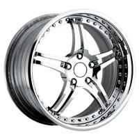 2010-2011 Camaro 946 WCC Forged Wheels (Set) : Chrome 22x9/22x10