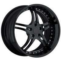 2010-2011 Camaro 946 WCC Forged Wheels (Set) : Black 22x9/22x10