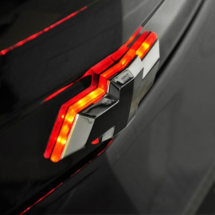 2010 2013 Camaro Bowtie Emblem Led Illuminated Color Shift Rear