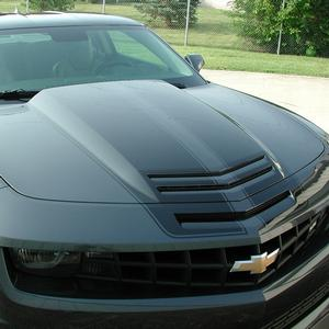 2010-2012 Camaro SS Hood - Lingenfelter Signature Series Ram Air High Rise w/Functional Ram Air Scoop