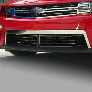 2012+ ZL1 Camaro - Front Upper Valance Trim - Polished Stainless Steel