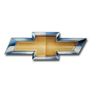"Chevy Bowtie Metal Sign - 34"" x 11"""