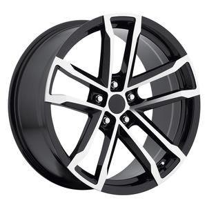 ZL1 Camaro Reproduction Wheels - Black Machined Face