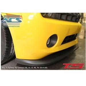 2010-2013 ACS-T5 Splitter (For Camaro LS, LT, RS Only, V6)