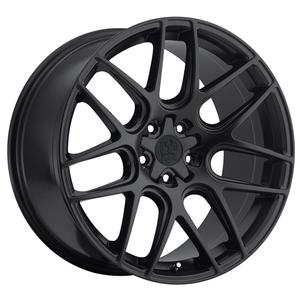 "2010-2014 Camaro Wheels - MOTIV ""409B Magellan"" - Satin Black (Set of 4) :RS & SS Sizes"