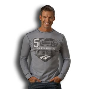Own the Road Thermal Tee - Granite