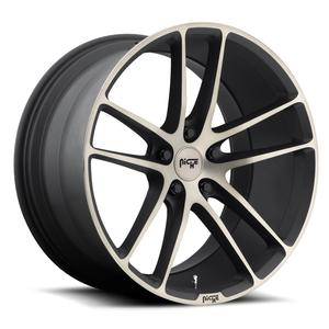 "2010-2014 Camaro Wheels - Niche ""Enyo"" - Black/Machined (Set of 4) : RS & SS Sizes"