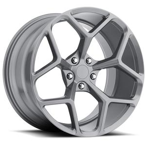 2010-2014 Camaro Wheels - GT Series M228 - Gunmetal (Set of 4) : RS & SS Sizes