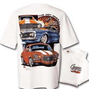 "Camaro ""The Hot Ones"" T-Shirt - White"