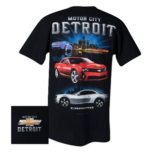 Camaro Motor City Detroit T-Shirt