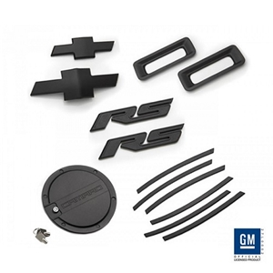 2010-13 Camaro RS Exterior Kit - Black 2010,2011,2012,2013