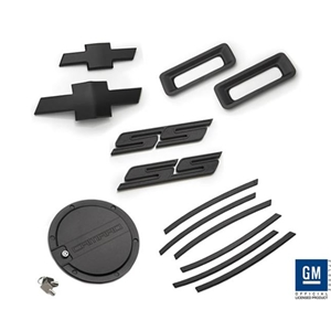 2010-13 Camaro SS Exterior Kit - Black 2010,2011,2012,2013
