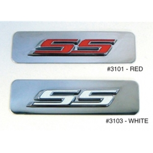 Camaro SS Engine Cover Nameplate : Stainless 2010,2011,2012,2013,2014,2015