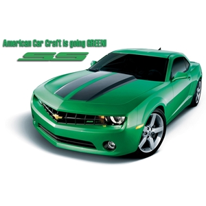 Camaro SS Synergy Green Accessory Package