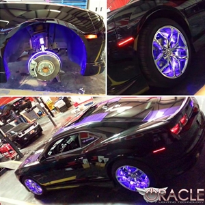 Camaro LED Illuminated Wheel Rings