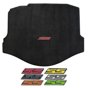 Camaro Trunk Mat Coupe - SS Logo (Color Choice)