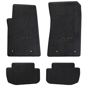 Camaro SS Floor Mats 4 Pc. Set (Black Logo)