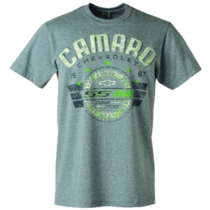 Camaro SS Metrics T -Shirt - Heather Grey
