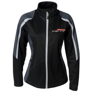 LADIES CAMARO FIFTY COLORBLOCK FLEECE JACKET