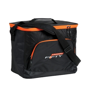Camaro Fifty Beachcomber Cooler Ice Chest - Black/Orange 24 can