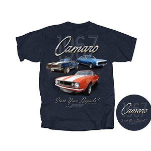 1967 Camaro Start Your Legends Tee