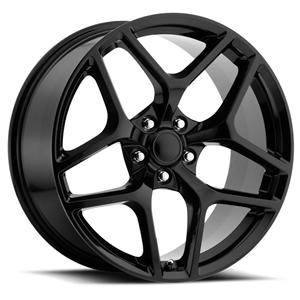 Z28 Camaro Reproduction Wheels - Gloss Black