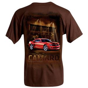 Camaro Night Out T-SHIRT- Brown