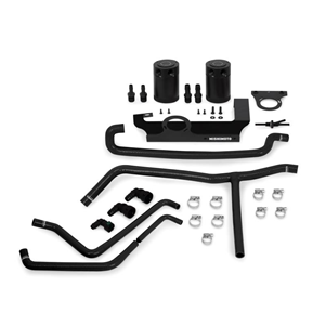 2016+ Camaro 2.0T BAFFLED OIL CATCH CAN SYSTEM - COLOR BLACK