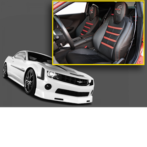 HAVOC Leather Interior Seat Cover Upgrades 5th Gen Camaro