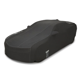 6th Gen Camaro GM Premium All-weather Car Cover: Red/Black