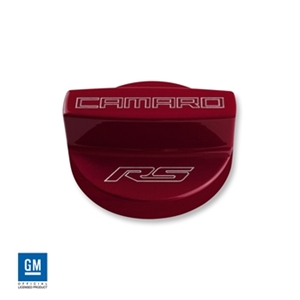 6th Gen Camaro RS Logo OIL FILL CAP COVER (COLOR-MATCHED)