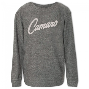 Ladies Camaro Cozy Crew - Charcoal Heather