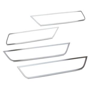 2010-2015 Camaro  Polished Stainless 4pc Side Marker Trim