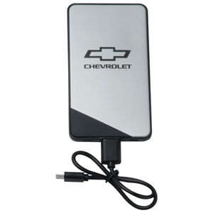 Chevrolet Bowtie Powerbank-Black & Silver