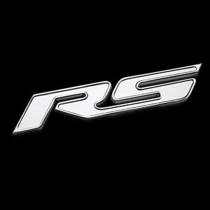 Camaro RS Badges Billet Aluminum - Chrome