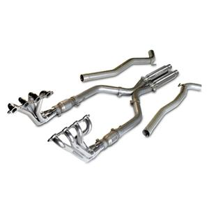2010-2015 Camaro Long Tube Headers with High Flow Cats, Install Kit and PowerFlo-X Crossover Pipe