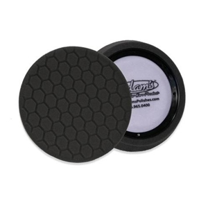 "Adam's Polishes - D/A 7.5"" Fine Machine Polish Pad : Black"